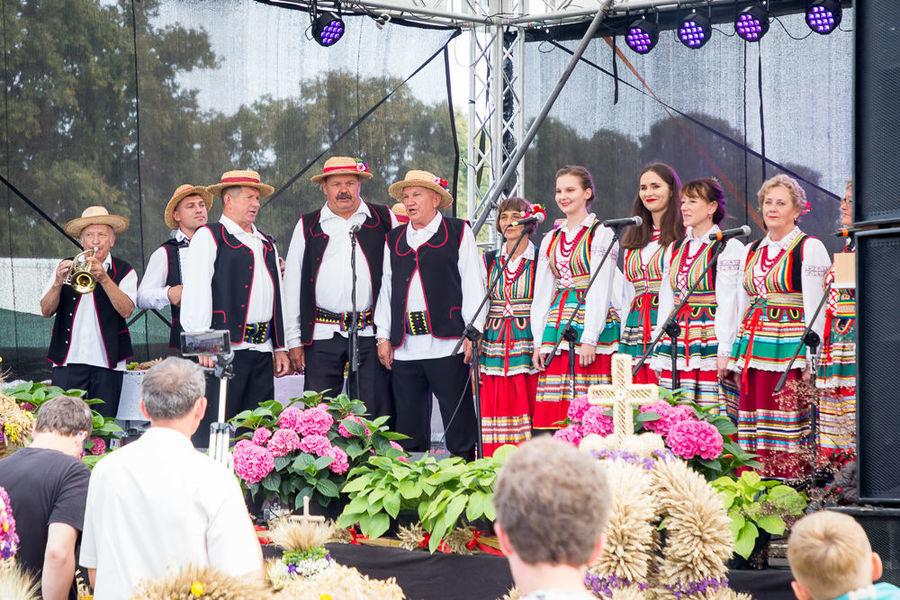 Na zdjęciu Zespół Ludowy Dysowiacy na scenie