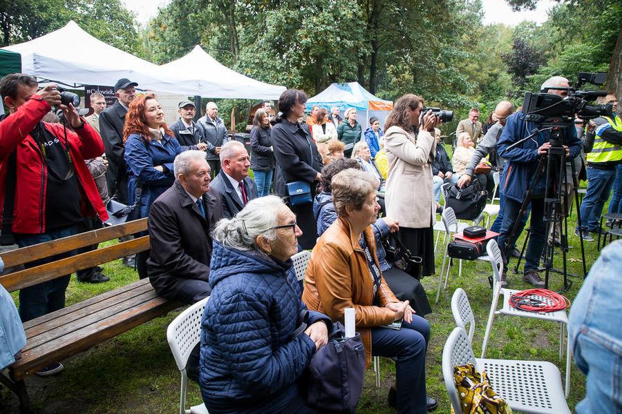Na zdjęciu publiczność podczas prezentacji sylwetki Kardynała.