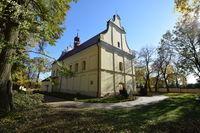 Zespół kościoła parafialnego p.w. Wniebowzięcia NMP w Bystrzycy