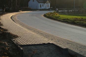 Nowy chodnik w Łysakowie