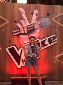 Natalia Wawrzyńczyk w The Voice Kids