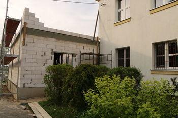 Rozbudowa szkoły w Łuszczowie