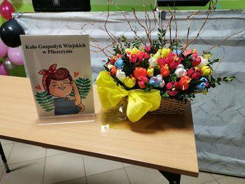 dekoracja wykonana przez Panie z KGW Pliszczyn