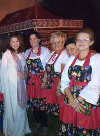 KGW na dożynkach gminnych w Pliszczynie