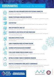Koronawirus – informacje dla seniorów