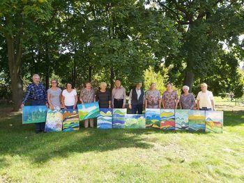 Seniorzy z Gminnego Klubu Seniora
