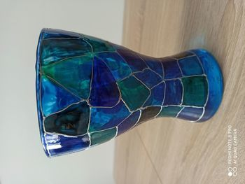 wazon ręcznie malowany przez Seniorów