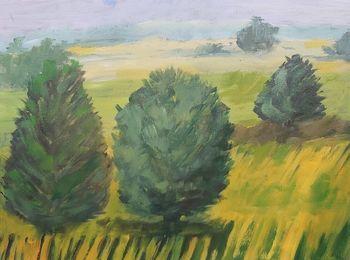 Obraz namalowany przez Seniorów