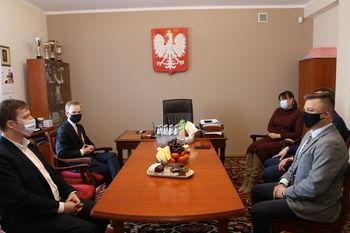 Wizyta Ministra Piotra Patkowskiego