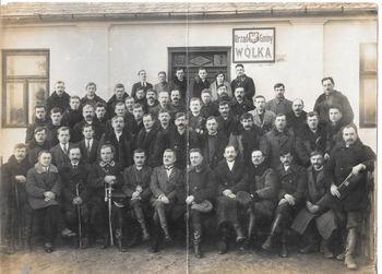 Radni i mieszkańcy gminy w 1929 roku