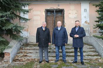 Wójtowie Tadeusz Małaj Włodzimierz Hofa oraz Edwin Gortat