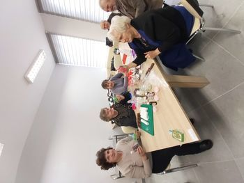 Uczestnicy zajęć Klubu seniora