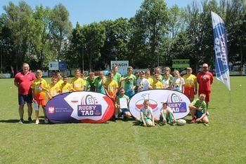 Finał Wojewódzki Szkolnej Ligii Rugby Tag