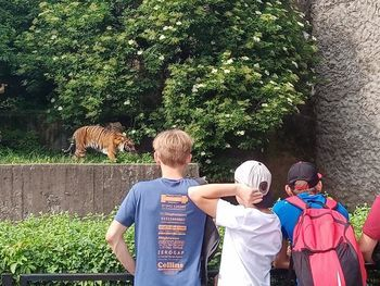 Zwiedzanie zoo