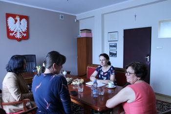 Wizyta Pracownika Biura Pełnomocnika Rządu ds. Polityki Demograficznej w gminie Wólka