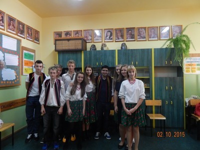 Warsztaty międzynarodowe w Gimnazjum w Jabłonnie