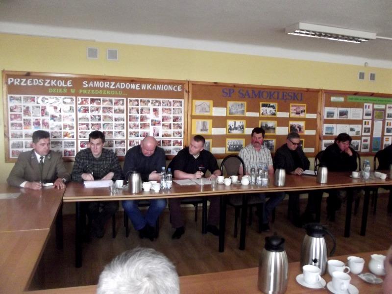Spotkanie z przedstawicielami kół łowieckich