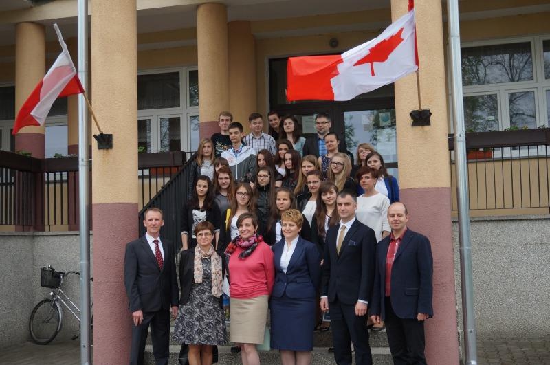 Wizyta Pani Konsul Kanady