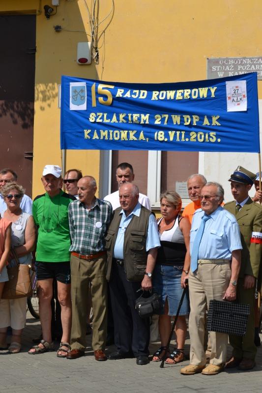 15 Rajd Rowerowy Szlakiem 27 W.D.P A.K.
