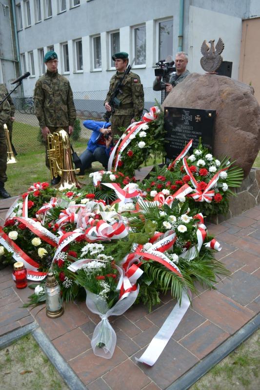 Odsłonięcie pomnika w Samoklęskach