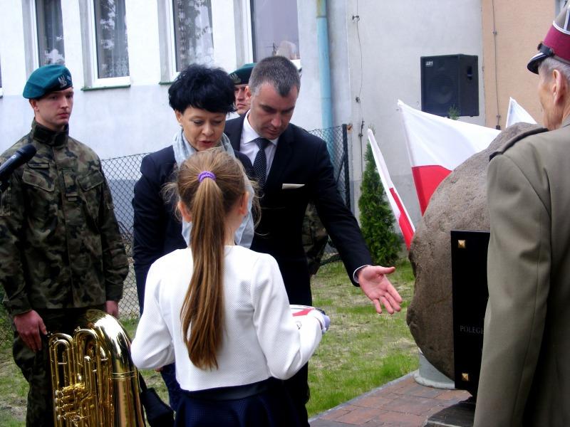 Odsłonięcie pomnika w Samoklęskach vol.2