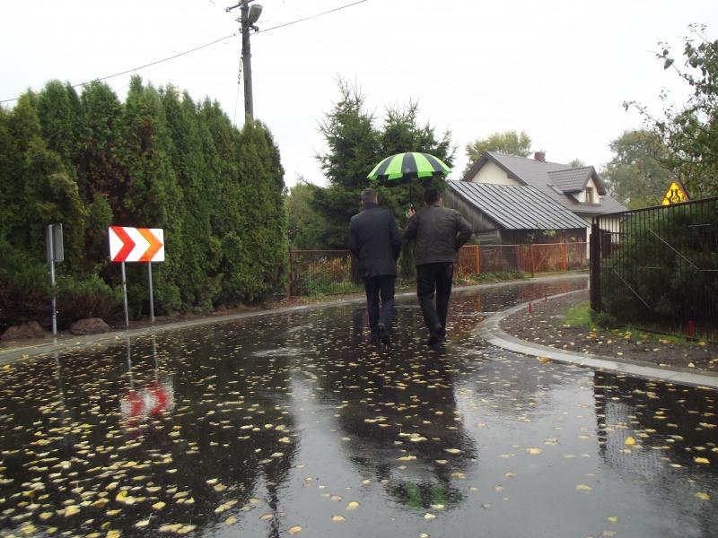 Ulica Litewska w Kamionce