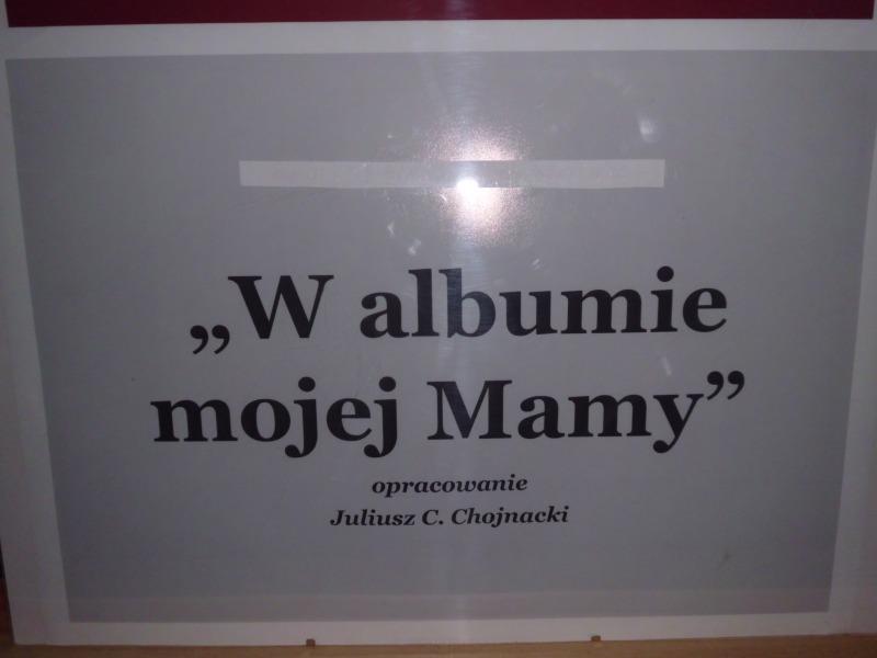 W albumie mojej mamy