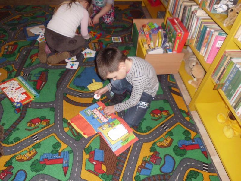 Ferie w Bibliotece 2014