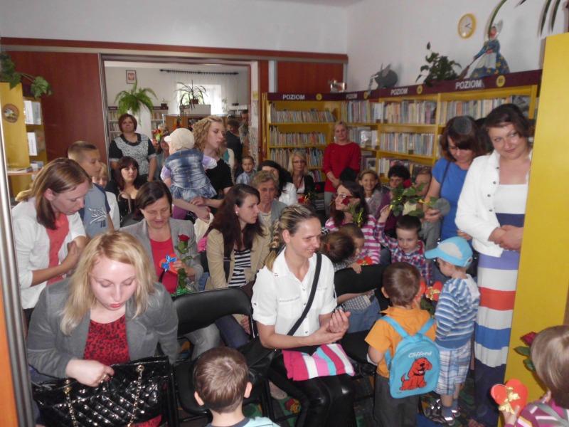 Dzień Matki 2014 - w bibliotece