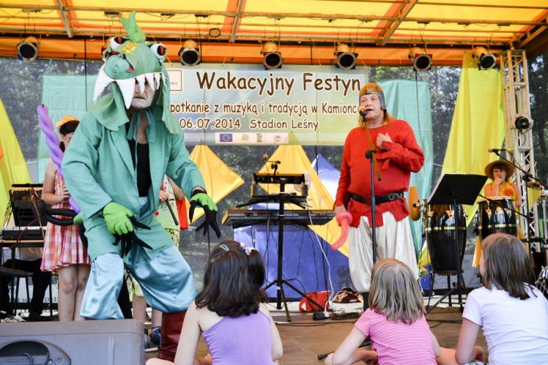 Festyn Wakacyjny 2014 fot. Krzysztof Sienkiewicz