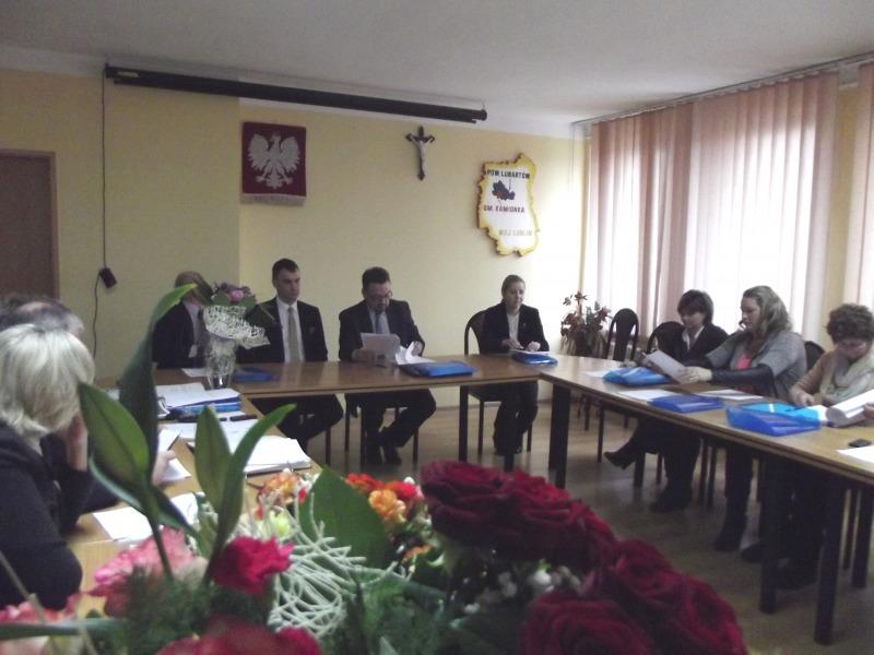 Pierwsza Sesja Rady Gminy Kamionka