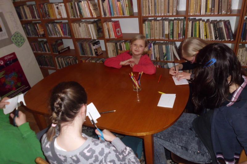 Ferie 2015 w Bibliotece - Samoklęski
