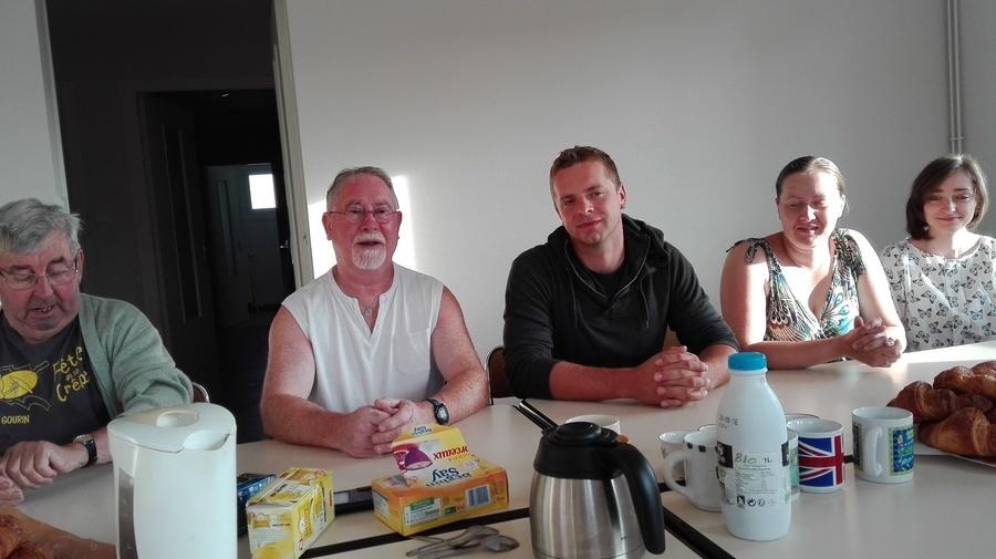Wizyta Samorządowców gminy Kamionka w partnerskim mieście Gourin we Francji