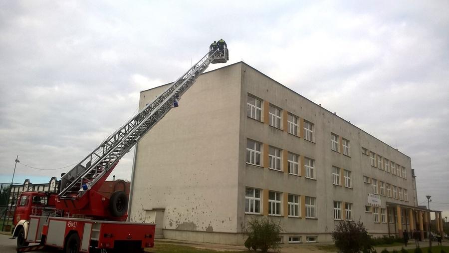 Ćwiczenia PSP w Lubartowie i jednostek OSP z terenu Gminy Kamionka
