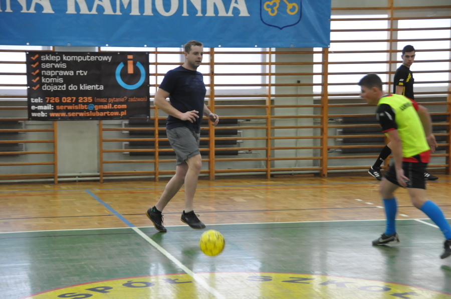 Turniej halowej piłki nożnej 05.02.2017