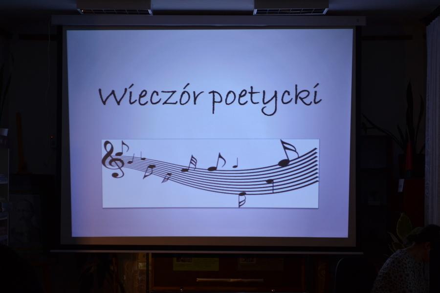 Wieczór poezji w Bibliotece