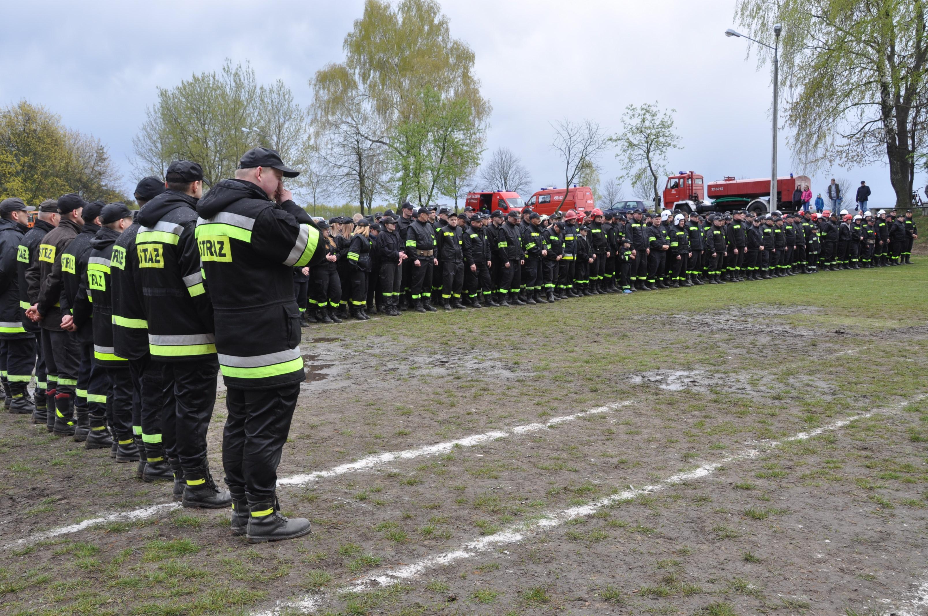 Zawody Sportowo-Pożarnicze Kamionka 2017