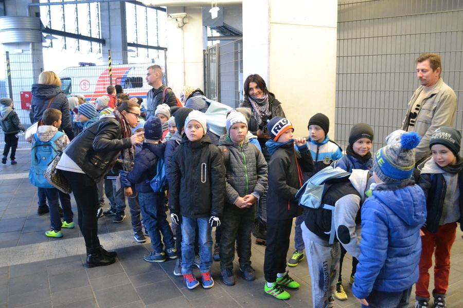 Dzieci z APGK na Arenie Lublin