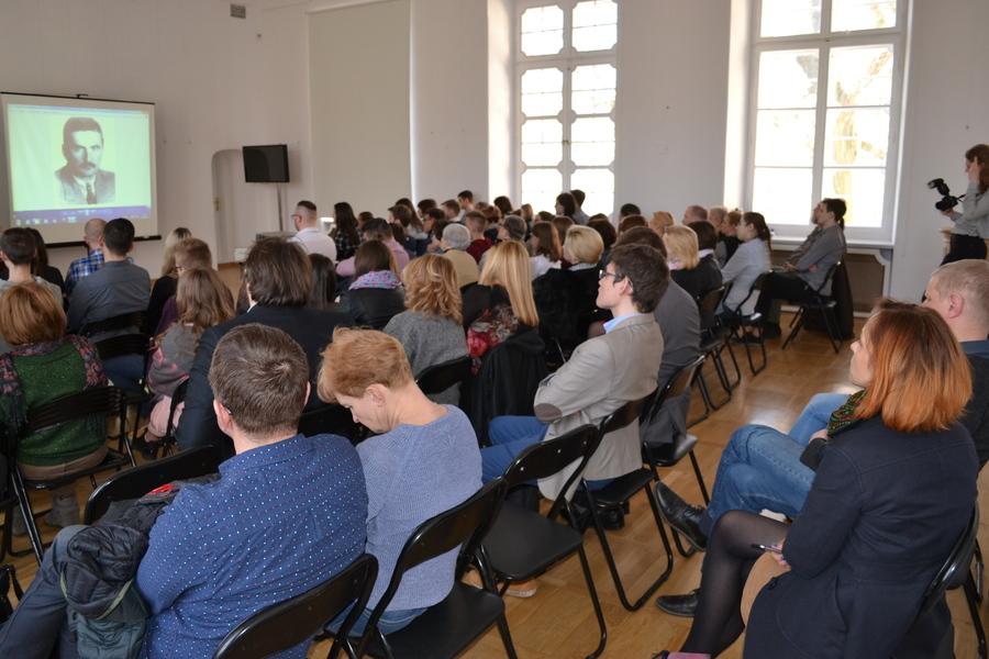 Spotkanie historyczne w Kozłówce