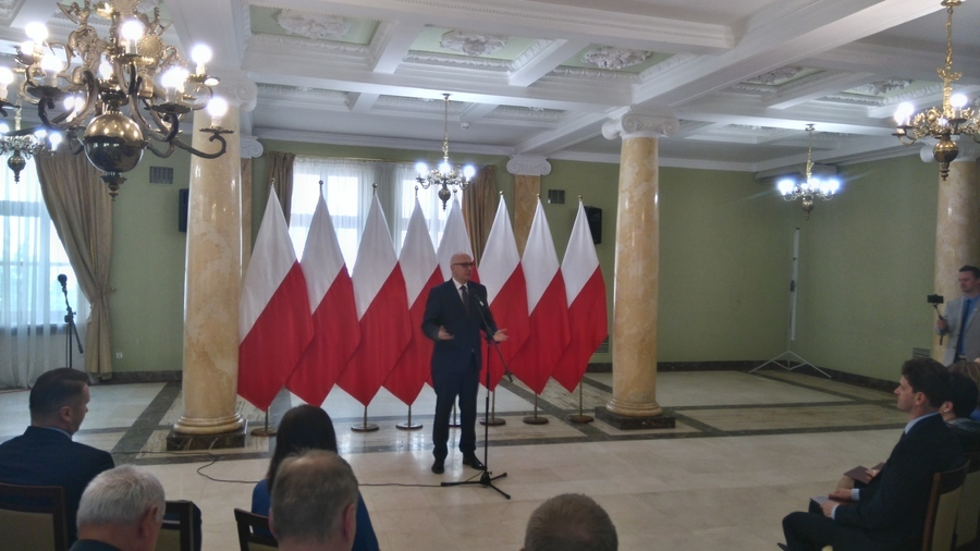 Otrzymanie promesy na dofinansowanie przebudowy drogi w Kozłówce