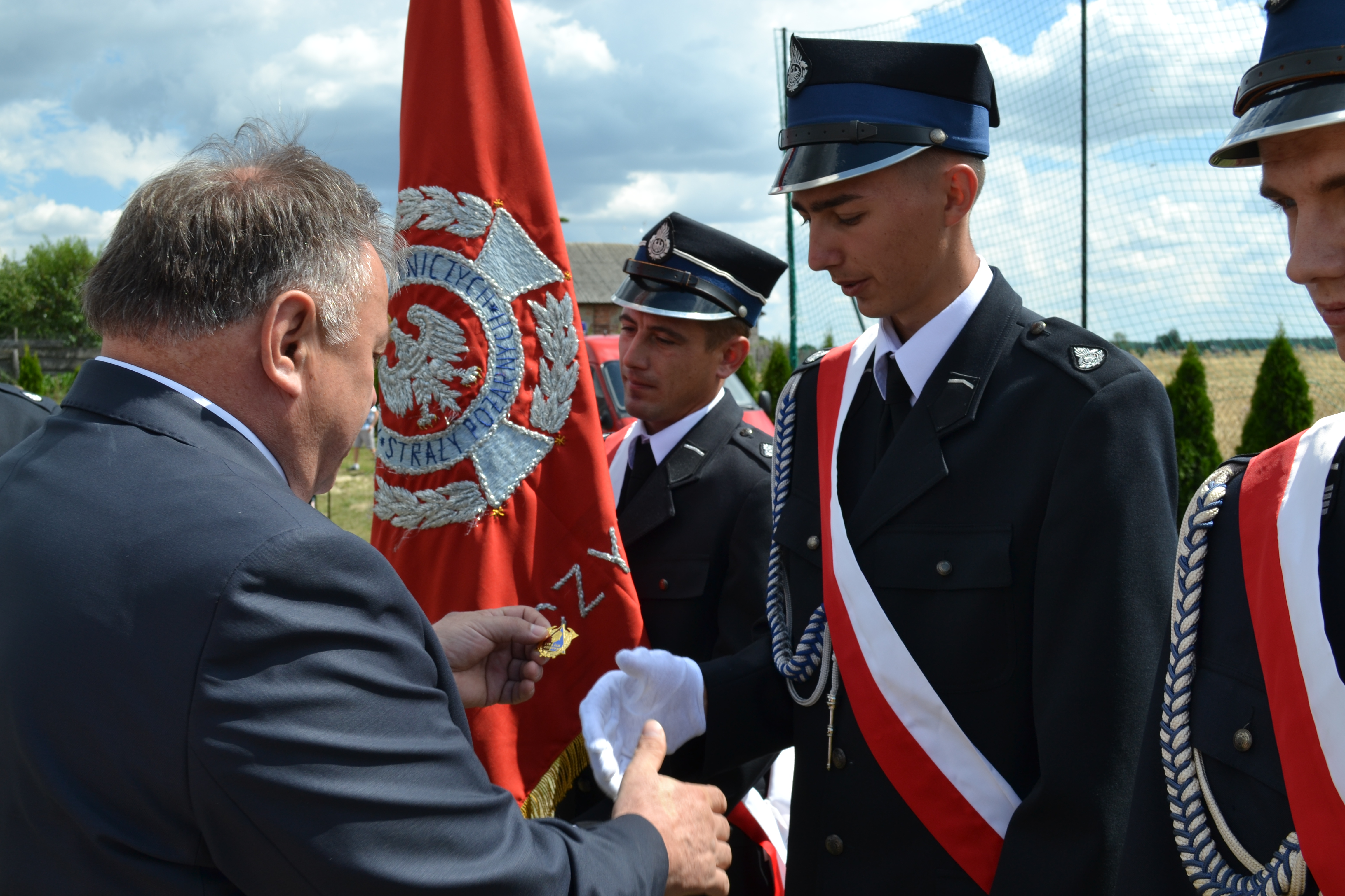 Obchody 50-lecia istnienia Ochotniczej Straży Pożarnej w Kozłówce