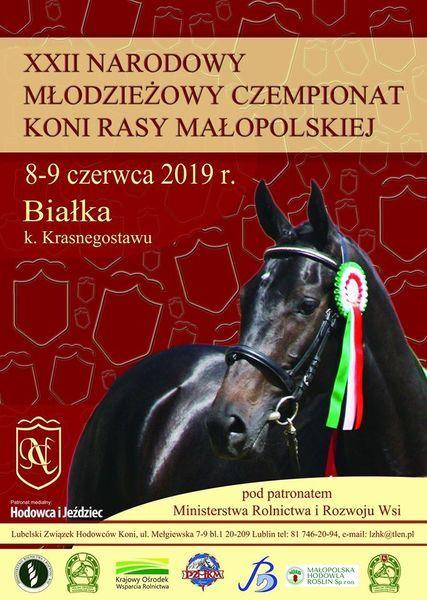 XXII Narodowy Młodzieżowy Czempionat Koni Rasy Małopolskiej już 8-9 czerwca br.