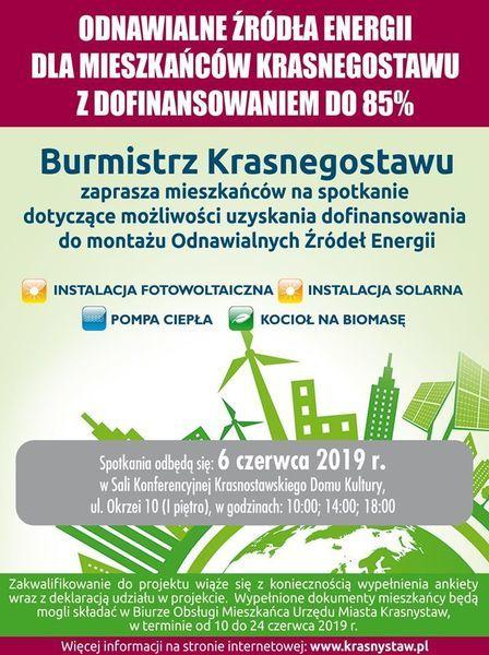Odnawialne źródła energii - OZE