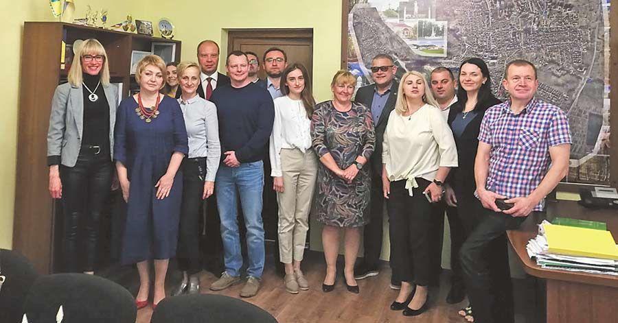 Delegacja z Miasta Krasnystaw w Winnikach