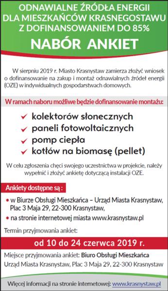 Ankiety OZE