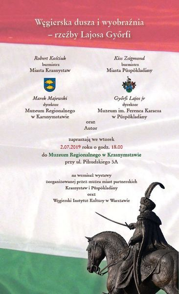 Węgierska Dusza i wyobraźnia - rzeźby Lajosa Győrfi