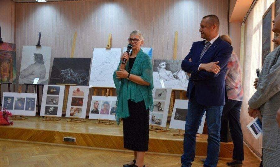 Wystawa B.Żuk i A.Kawęckiej