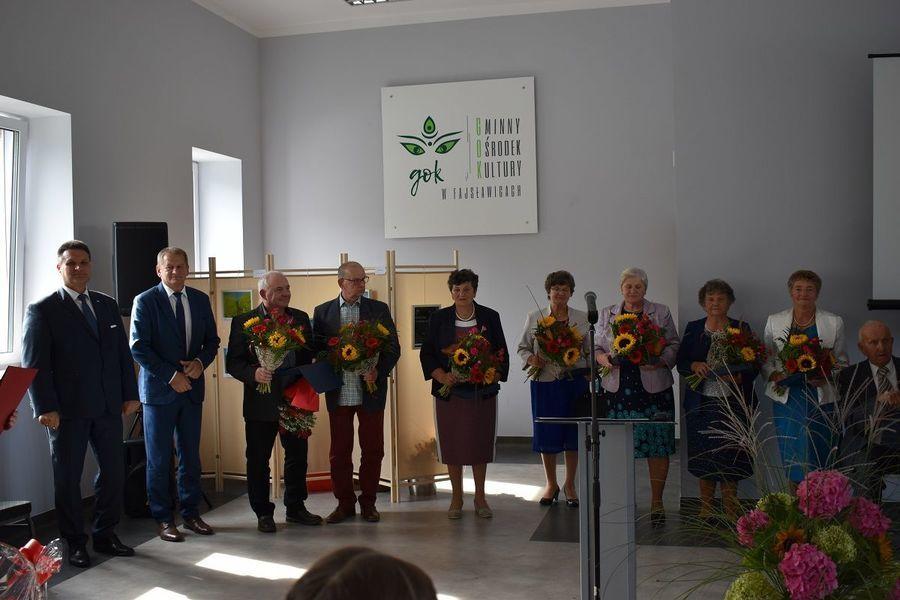 uroczyste otwarcie Gminnego Ośrodka Kultury