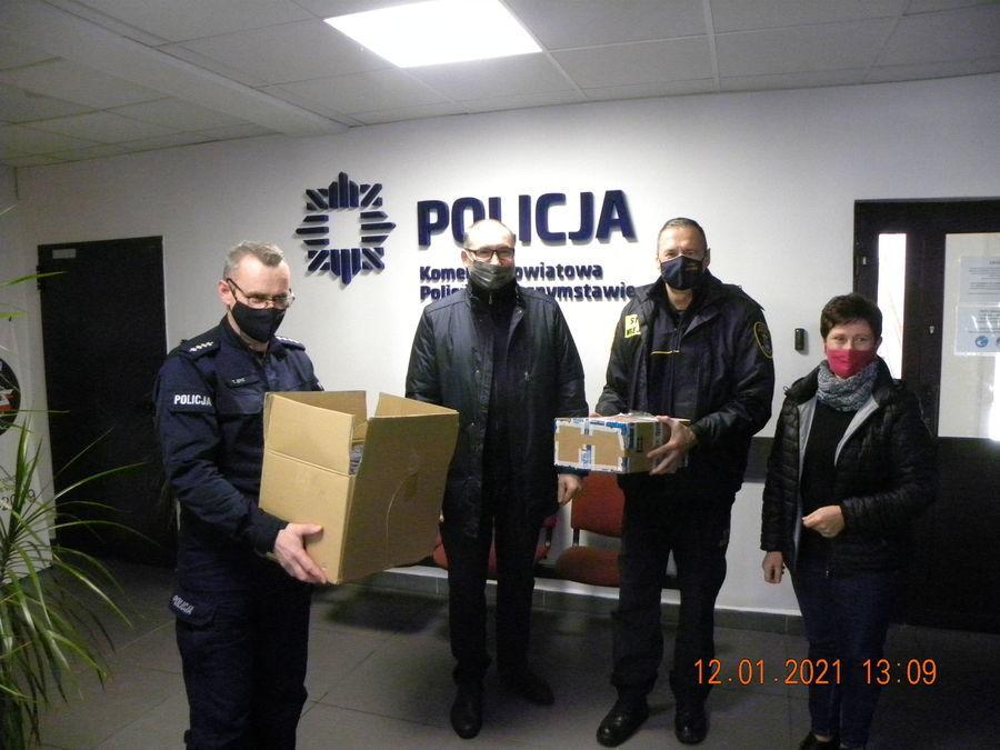 Działania Straży Miejskiej w Krasnymstawie skierowane do osób potrzebujących i bezdomnych