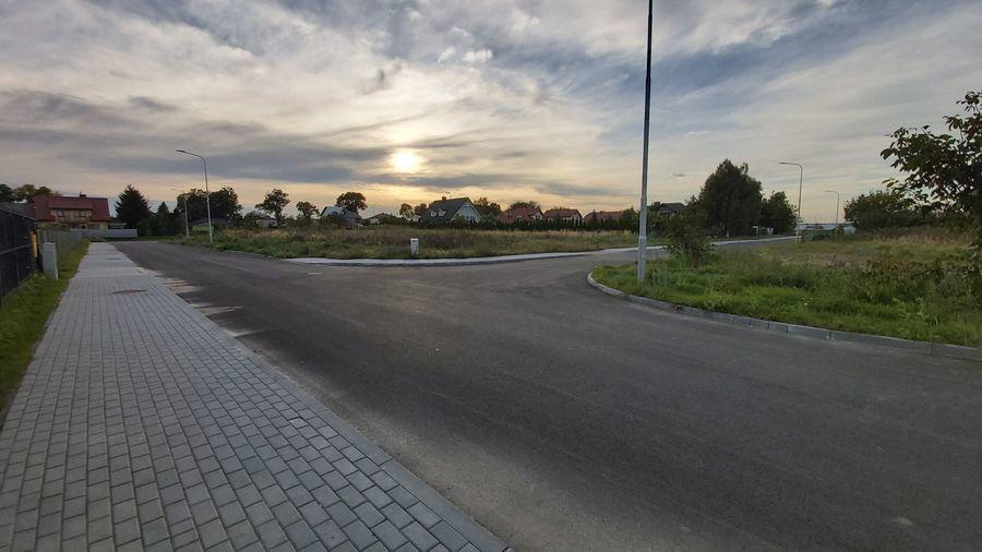 Droga gminna od osiedla Jagiellońskiego w Krasnymstawie